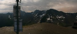 Archived image Webcam On the Summit of Palinkopf 22:00