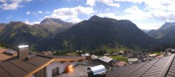 Archived image Webcam Panoramic view Oberlech from Hotel Goldener Berg 06:00