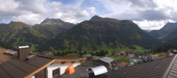 Archived image Webcam Panoramic view Oberlech from Hotel Goldener Berg 08:00