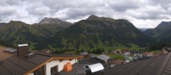 Archived image Webcam Panoramic view Oberlech from Hotel Goldener Berg 10:00
