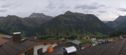 Archived image Webcam Panoramic view Oberlech from Hotel Goldener Berg 12:00