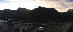Archived image Webcam Panoramic view Oberlech from Hotel Goldener Berg 02:00