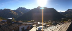 Archived image Webcam Panoramic view Oberlech from Hotel Goldener Berg 04:00