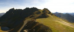 Archived image Webcam Panorama Gondola - Silvretta Montafon 04:00
