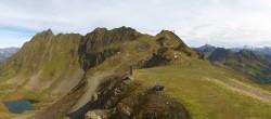 Archived image Webcam Panorama Gondola - Silvretta Montafon 08:00