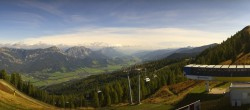 Archiv Foto Webcam 360 Grad Panorama - Hauser Kaibling, Schladming Dachstein 04:00