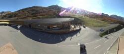 Archiv Foto Webcam Timmelsjoch: Mautstation Top Mountain Crosspoint 04:00