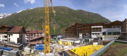 Archived image Webcam Panoramic view Hotel Edelweiss & Gurgl, Obergurgl 04:00