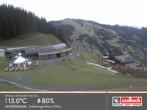 Archived image Webcam Intermediate station Zwoelferkogel in Hinterglemm 04:00