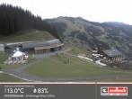 Archived image Webcam Intermediate station Zwoelferkogel in Hinterglemm 08:00