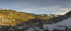 Archived image Webcam View from Hotel Talblick Hinterglemm 04:00