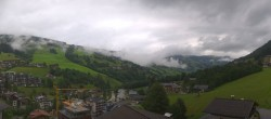 Archived image Webcam View from Hotel Talblick Hinterglemm 02:00