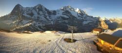 Archived image Webcam Top Station Lauberhorn, Grindelwald 00:00