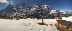 Archived image Webcam Top Station Lauberhorn, Grindelwald 04:00