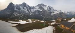 Archived image Webcam Top Station Lauberhorn, Grindelwald 02:00