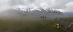 Archiv Foto Webcam Kleine Scheidegg-Lauberhorn, Grindelwald 04:00
