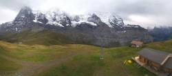 Archived image Webcam Top Station Lauberhorn, Grindelwald 08:00