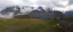 Archived image Webcam Top Station Lauberhorn, Grindelwald 10:00