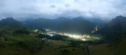 Archived image Webcam View from Kriegerhorn 20:00