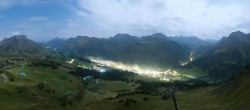 Archived image Webcam View from Kriegerhorn 22:00