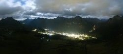 Archived image Webcam View from Kriegerhorn 18:00