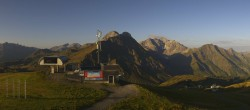 Archived image Webcam Panoramic view Warth Schröcken 02:00