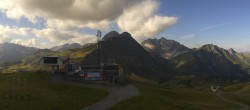 Archived image Webcam Panoramic view Warth Schröcken 04:00