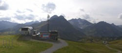 Archived image Webcam Panoramic view Warth Schröcken 08:00