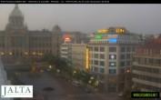 Archived image Webcam Wenceslas Square in Prague 22:00