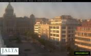 Archived image Webcam Wenceslas Square in Prague 00:00