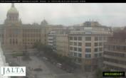 Archived image Webcam Wenceslas Square in Prague 12:00