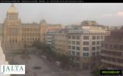 Archived image Webcam Wenceslas Square in Prague 14:00