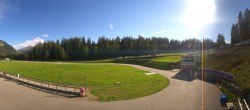 Archived image Webcam Biathlon Arena in Lenzerheide 10:00