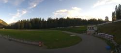 Archived image Webcam Biathlon Arena in Lenzerheide 12:00