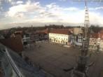 Archiv Foto Webcam Marktplatz von Aurich 07:00