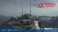 Archived image Webcam Corvatsch: View from Top Station 03:00