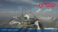 Archived image Webcam Corvatsch: View from Top Station 11:00