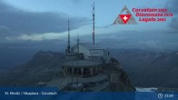 Archived image Webcam Corvatsch: View from Top Station 21:00
