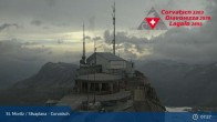 Archived image Webcam Corvatsch: View from Top Station 01:00