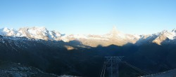 Archived image Webcam Panoramic view from Rothorn 00:00