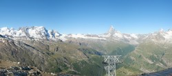 Archived image Webcam Panoramic view from Rothorn 02:00