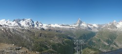 Archived image Webcam Panoramic view from Rothorn 04:00