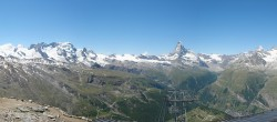 Archived image Webcam Panoramic view from Rothorn 06:00