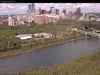 Archived image Webcam Edmonton: View Skyline 10:00