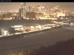 Archived image Webcam Edmonton: View Skyline 22:00