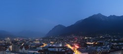 Archiv Foto Webcam Panoramablick - Innsbruck 03:00