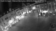 Archiv Foto Webcam Blick auf den Marktplatz Ettlingen 18:00
