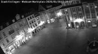 Archiv Foto Webcam Blick auf den Marktplatz Ettlingen 20:00