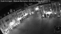 Archiv Foto Webcam Blick auf den Marktplatz Ettlingen 22:00