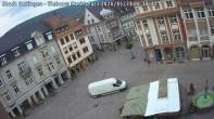 Archiv Foto Webcam Blick auf den Marktplatz Ettlingen 00:00